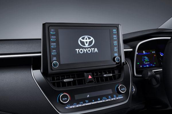 All New Corolla Altis audio - nasmoco pati