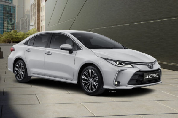 All New Corolla Altis