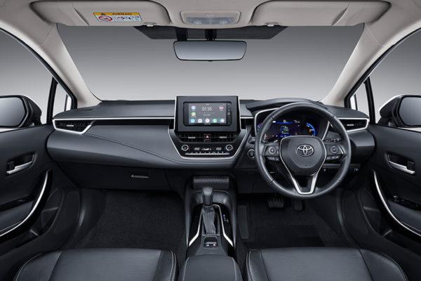 All New Corolla Altis interior - nasmoco pati