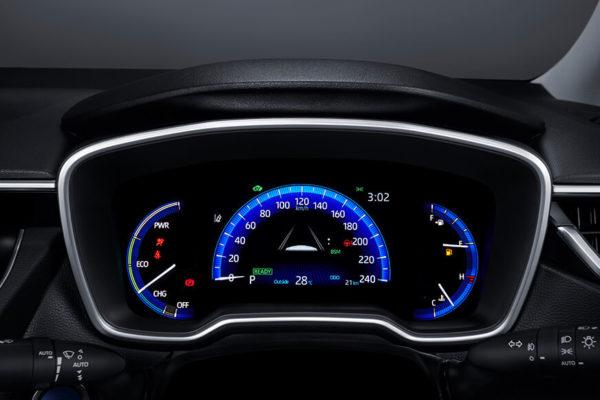 All New Corolla Altis spidometer sport - nasmoco pati
