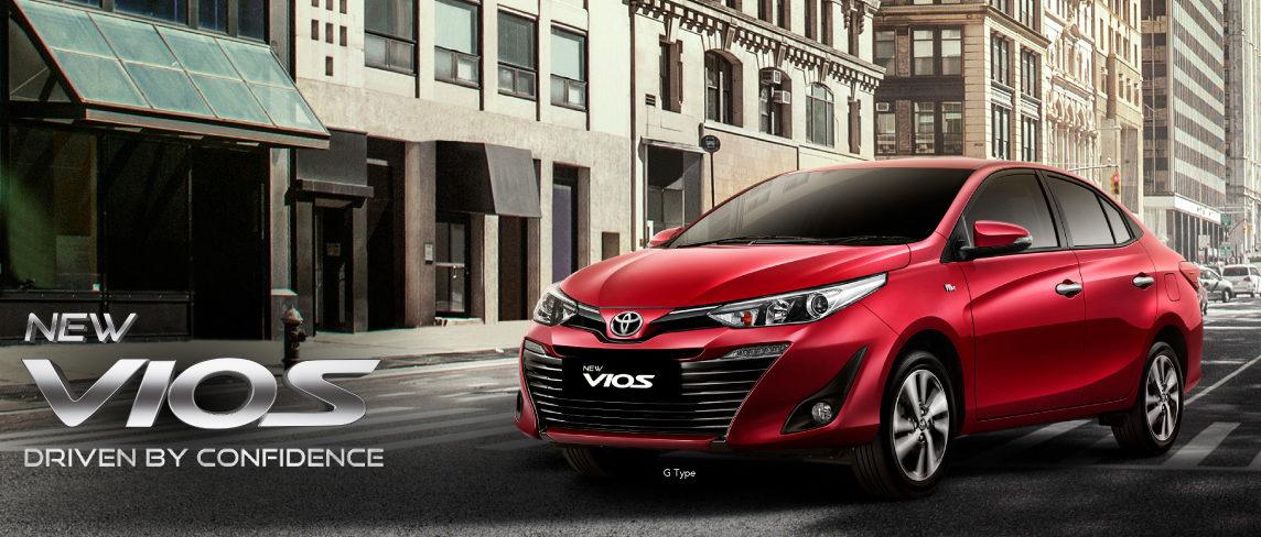 Toyota New Vios Banner - Nasmoco Pati