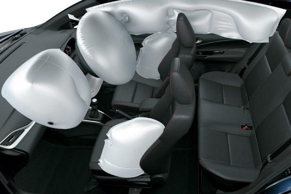 Toyota New Vios airbags - Nasmoco Pati