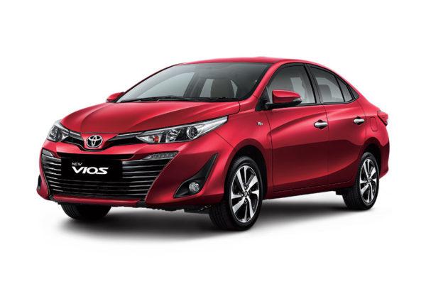 Toyota New Vios depan - Nasmoco Pati
