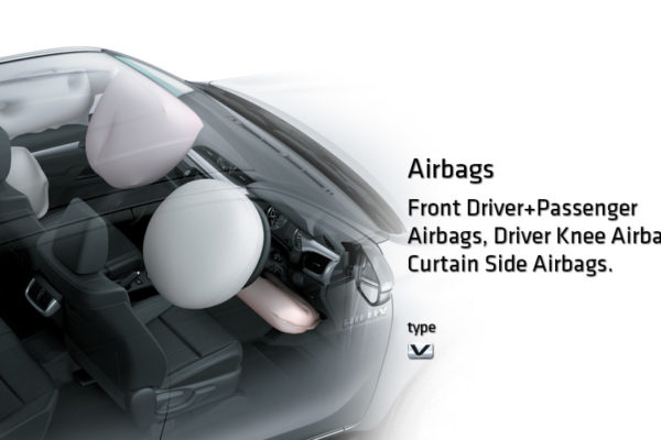 toyota hilux D cab airbag