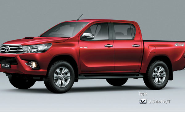 All New Hilux D-Cab