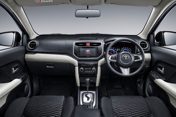Toyota All New Rush interior - nasmoco pati