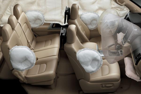 Toyota Land Cruiser airbags - Nasmoco Pati