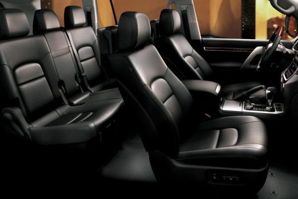 Toyota Land Cruiser interior - Nasmoco Pati
