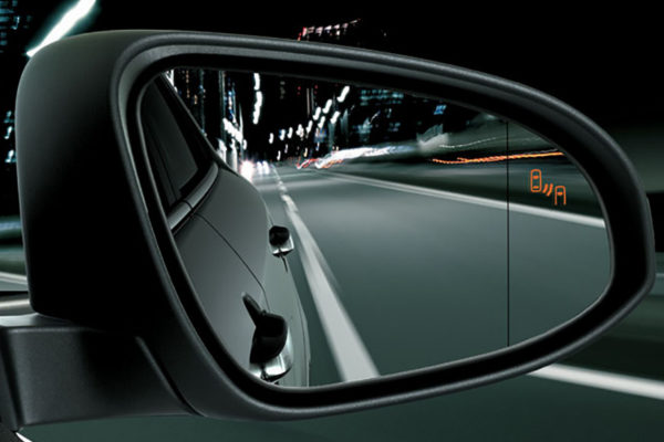 Blind Spot Monitor System All New CHR Toyota Pati