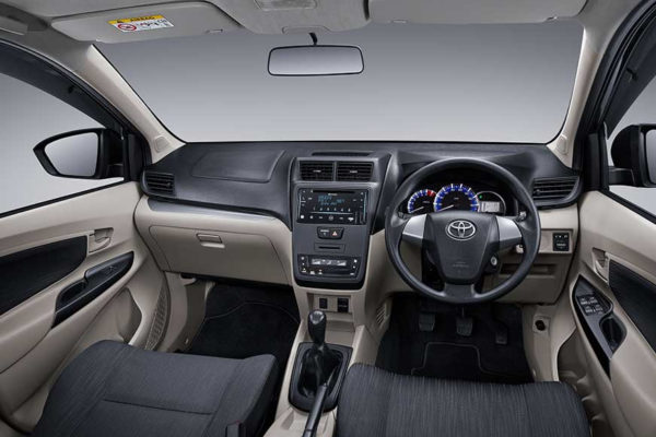 Dashboard panel All New Avanza Pati