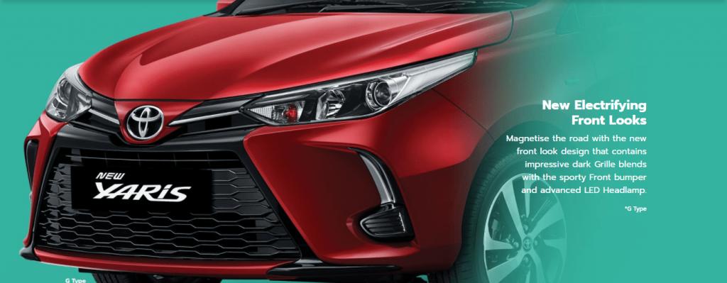 Eksterior Depan New Yaris - Toyota Nasmoco Pati