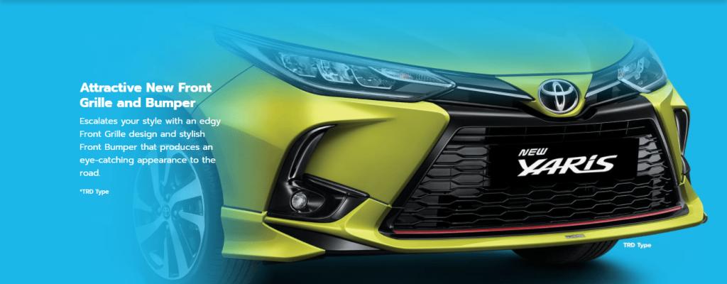 Eksterior lampu New Yaris - Toyota Nasmoco Pati