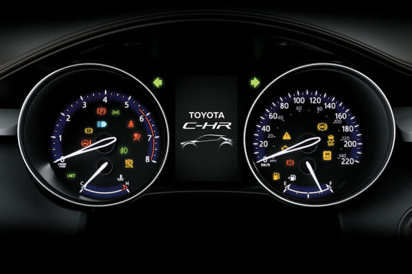 TFT Type Mid All New CHR Toyota Pati
